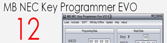 MB KEY PROG EVO NEC 12